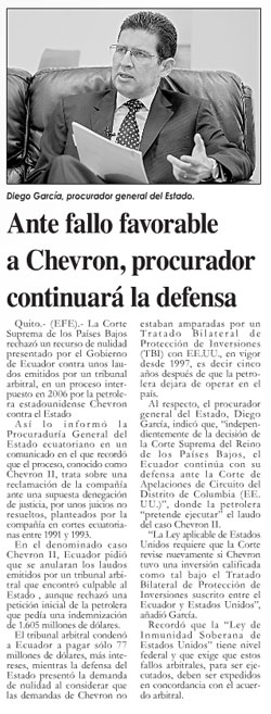 2014-10-01-Mercurio,-Ante-fallo-favorable-a-Chevron,-procurador-continuará-defensa